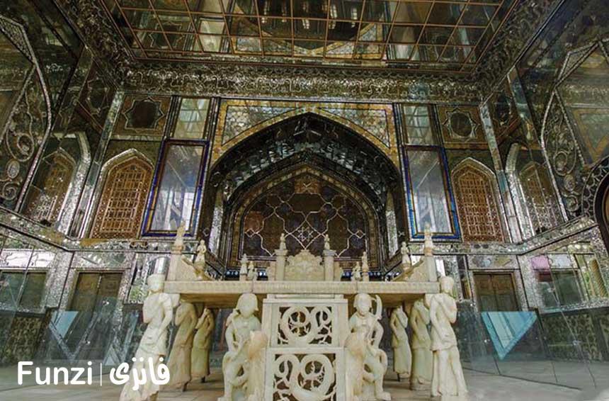 تخت مرمر کاخ گلستان تهران