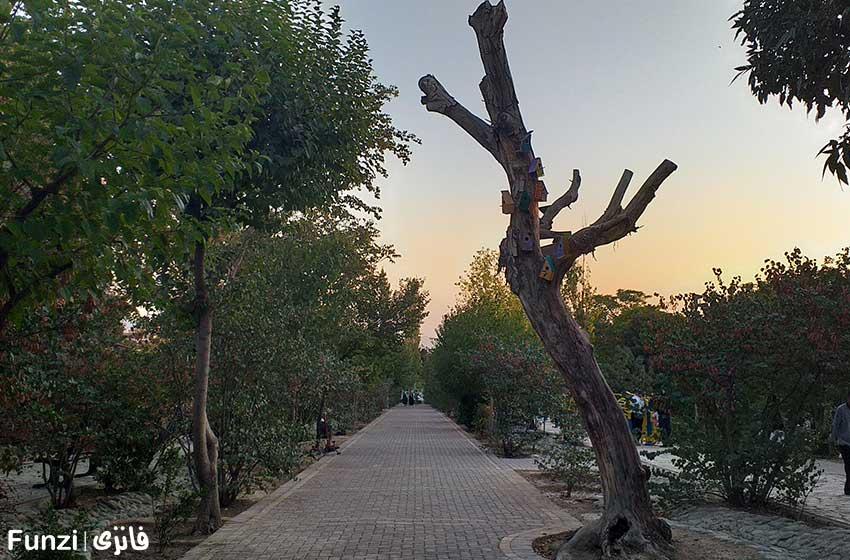 طبیعتی زیبا در بوستان پلیس تهران
