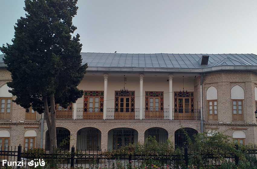 عمارت ارباب هرمز در پارک پلیس | باغ اناری