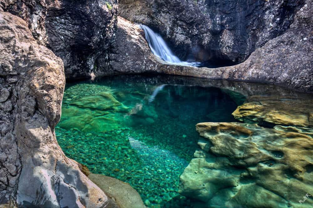 استخر در اسکاتلند شنا کردن استخر طبیعی