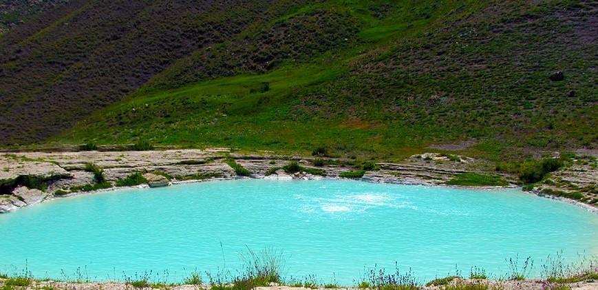 استخر های طبیعی ایران