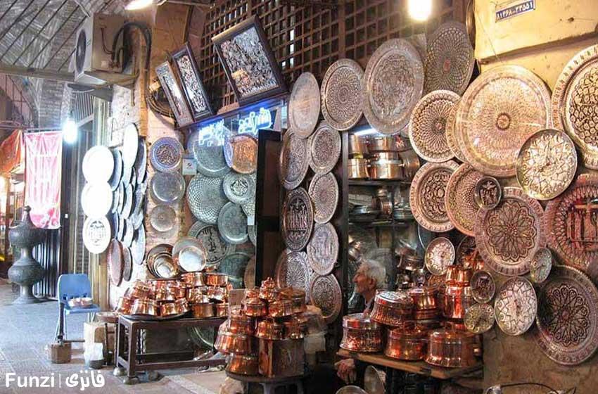 بازار بزرگ اصفهان |فانزی گردی