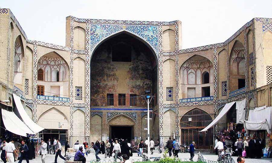 بازار بزرگ شهر اصفهان |چندپرگردی