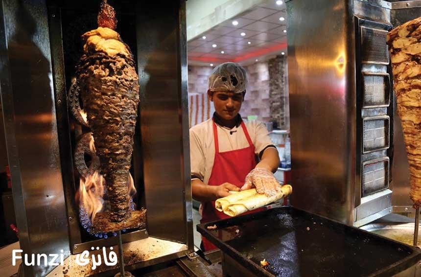 غذاهای خیابانی خیابان دولت آباد
