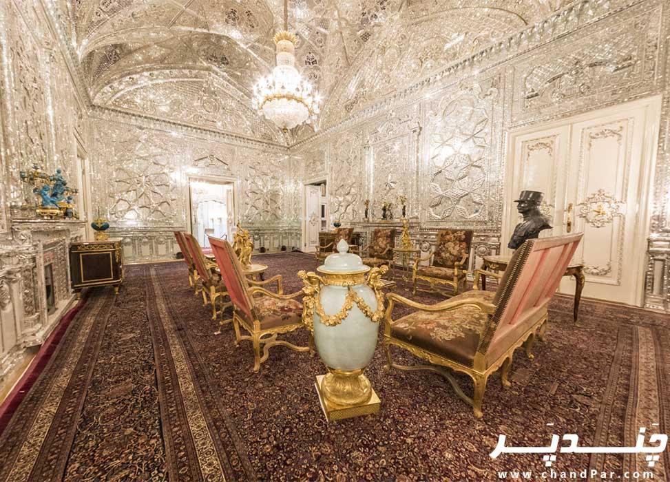 فضای داخلی کاخ سبز سعدآباد