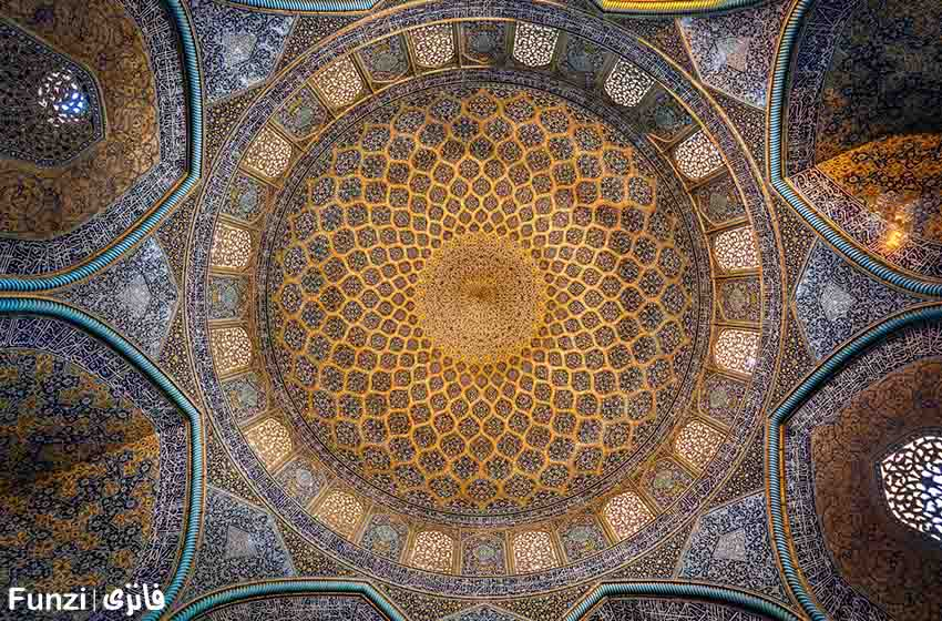 مقاله در مورد مسجد شیخ لطف الله در اصفهان
