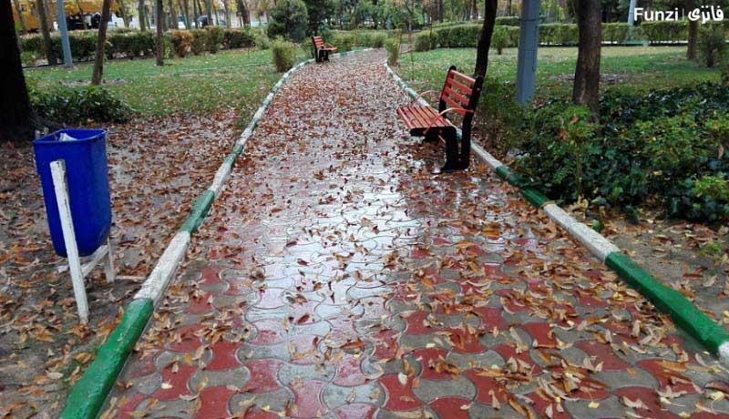 پارک فدک شرق تهران