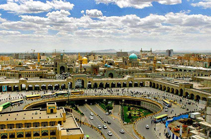 آب و هوای شهر مشهد