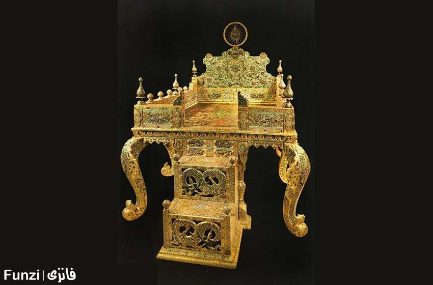 تخت نادری موزه جواهرات ملی