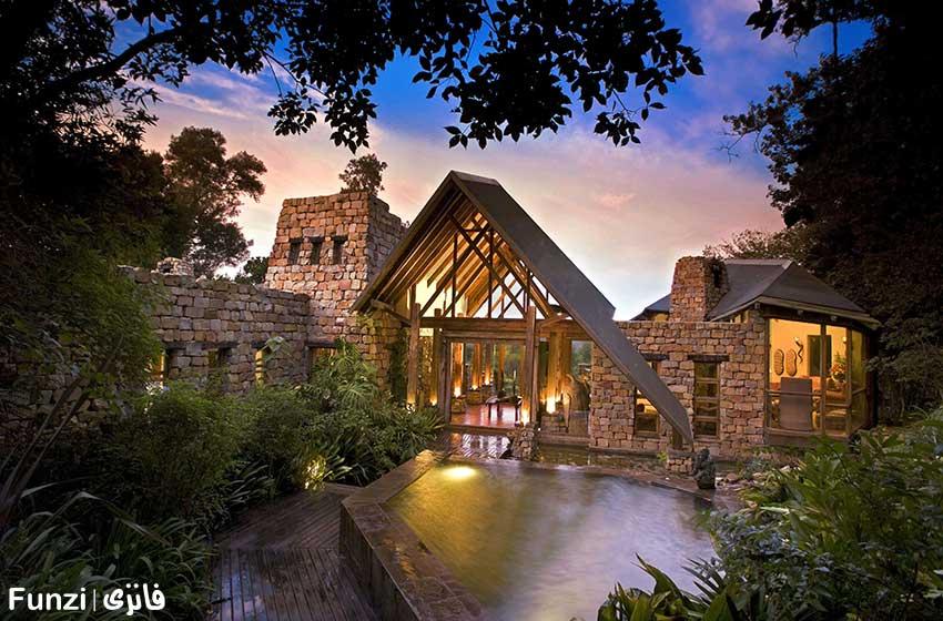 هتل درختی -در آفریقای جنوبیTasala Tretop Lodge
