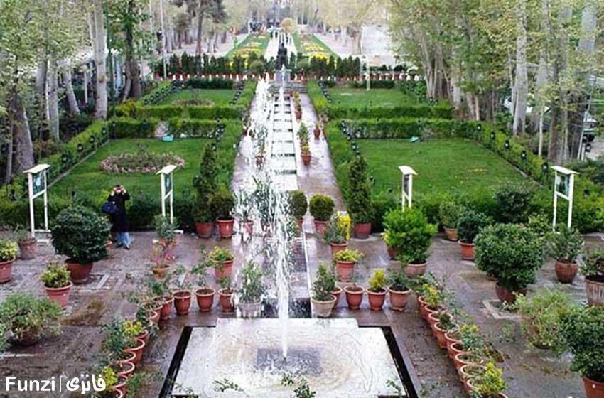 باغ فردوس در نوروز تهران