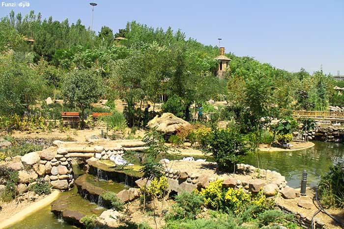 باغ پرندگان در بهار تهران