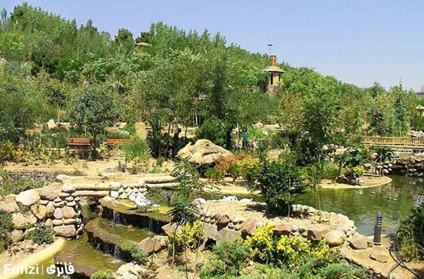 باغ پرندگان تهران در نوروز