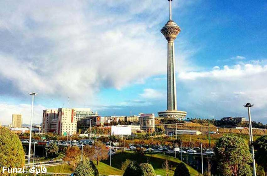 برج میلاد نماد تهران بزرگ