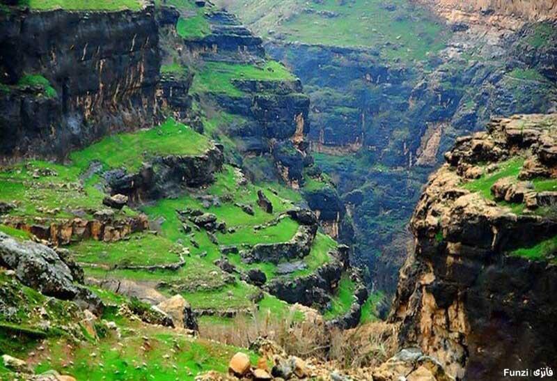 تنگه رازیانه استان ایلام