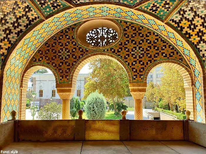 خلوت کریم خانی در کاخ گلستان تهران