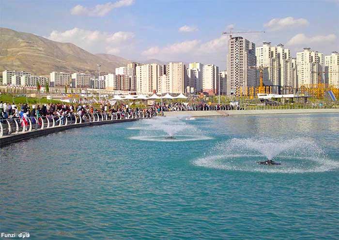 دریاچه شهدای خلیج فارس چیتگر