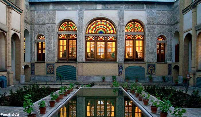 عمارت-زیبای-مسعودیه تهران