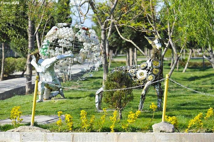 پارک بازیافت تهران از دیدنی ها در فصل بهار