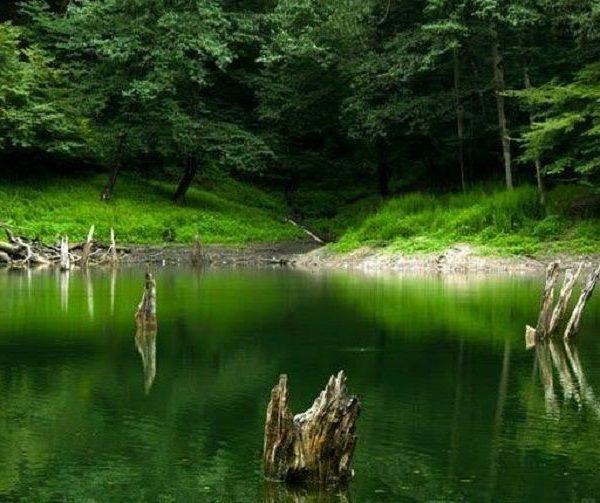 دریاچه چورت (میانشه) ساری
