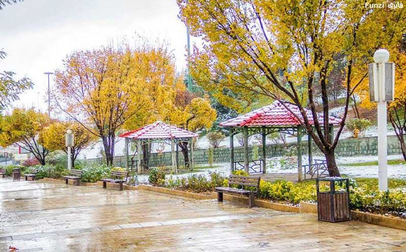 پاییز زیبای پارک پرواز
