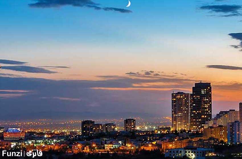 برج میلاد محله شهرک غرب