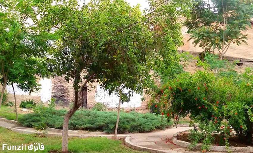 فضای سبز پارک شفق تهران