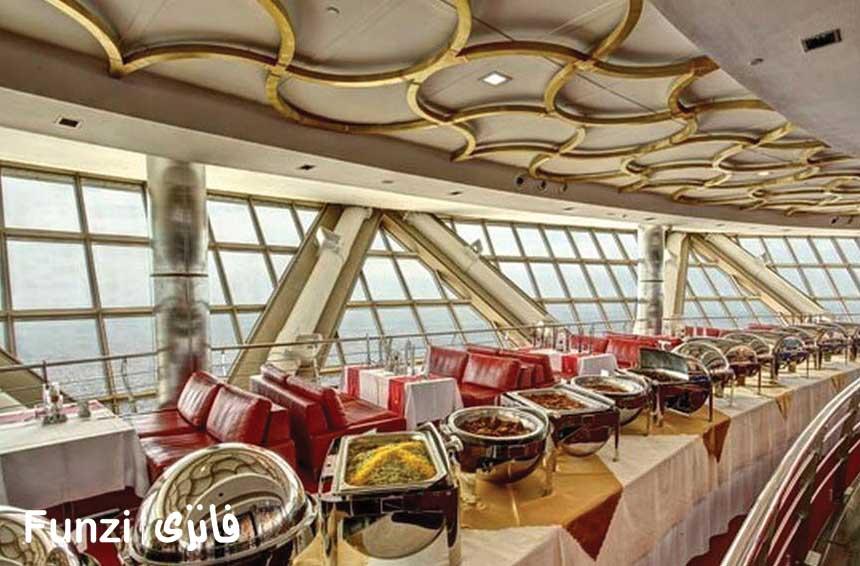 رستوران گردان برج میلاد 4