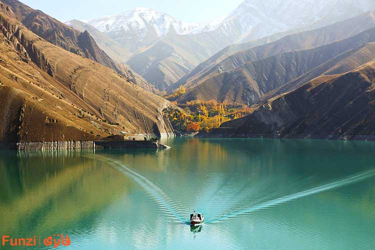 دریاچه سد امیرکبیر کرج