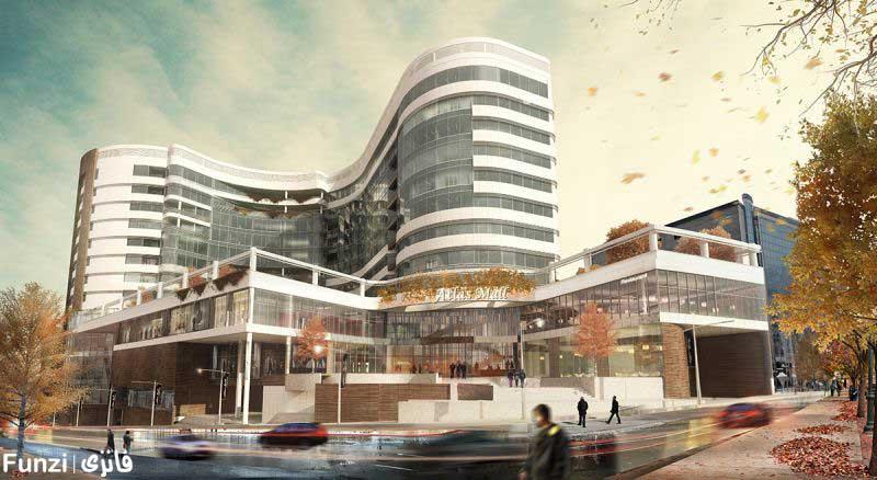 معماری پروژه اطلس مال
