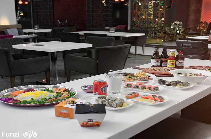 رستوران پاساژ سپید تهرانپارس