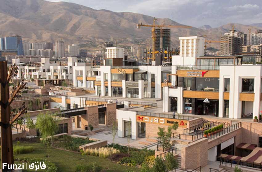 بام لند در نزدیکی ایران مال تهران