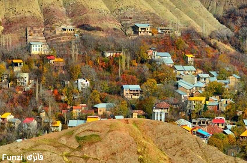 روستای افجه در اطراف لواسان