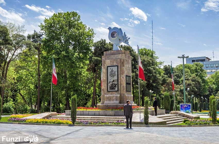 عکاسی در پارک شهر تهران