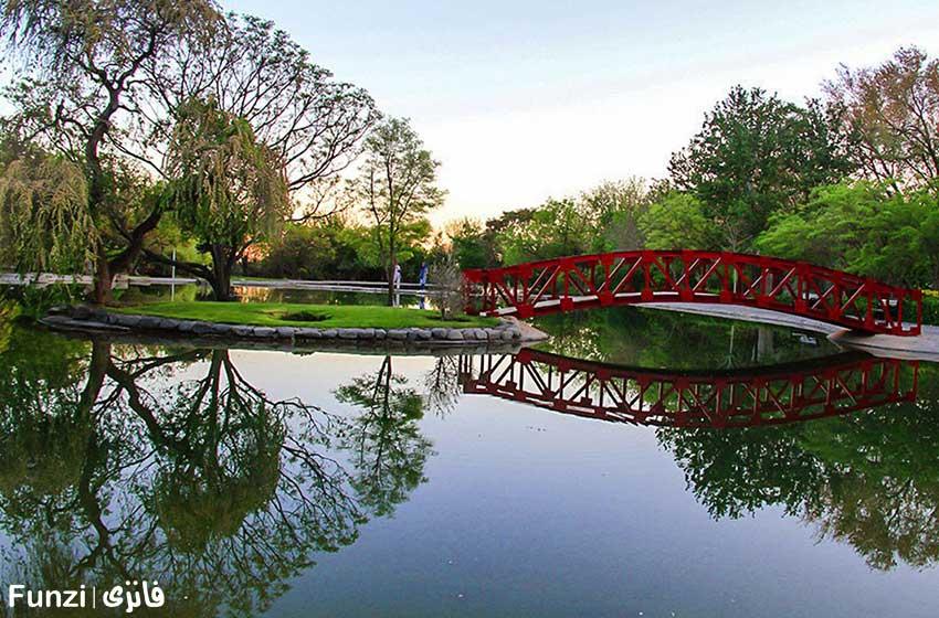 عکاسی در باغ گیاه شناسی تهران