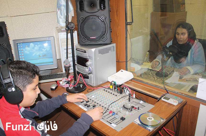 ایستگاه رادیو کاخ سعد اباد تهران