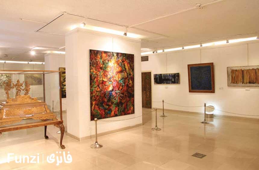 موزه هنرهای ملل کاخ سعد آباد تهران