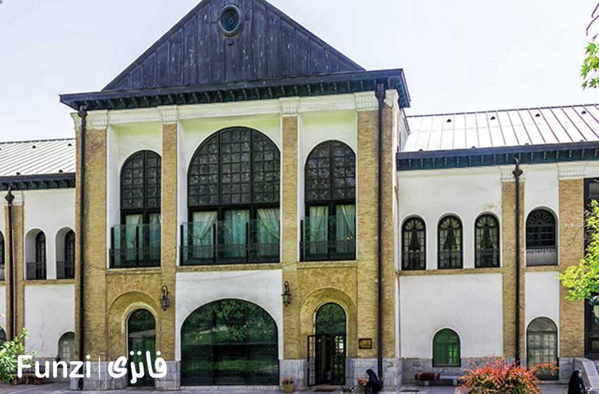 کاخ صاحبقرانیه در کاخ نیاوران