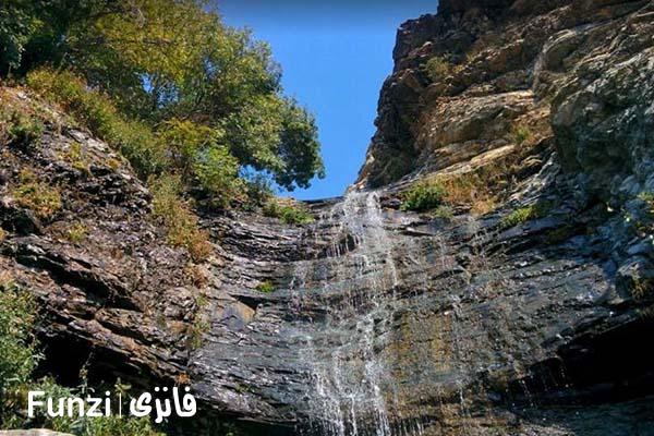 آبشار باصفای کلوگان | جاهای دیدنی تهران و حومه