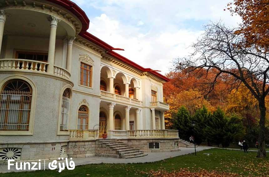 کاخ سعد آباد در نزدیکی دربند تهران