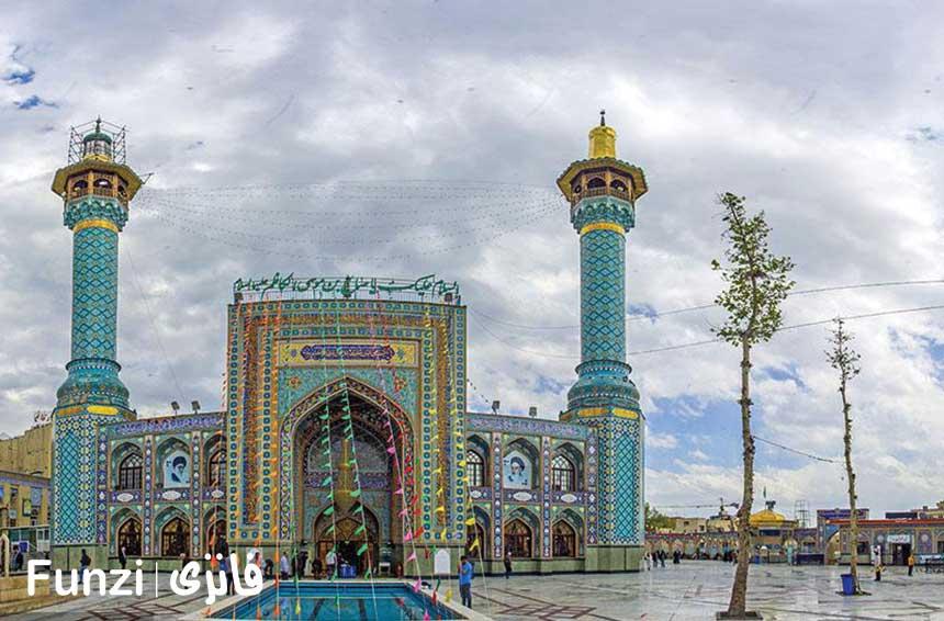 امامزاده صالح در نزدیکی اردوگاه باهنر تهران