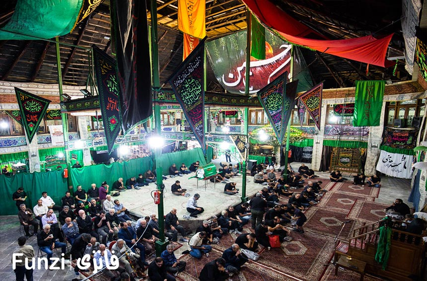 تکیه بازار تجریش تهران