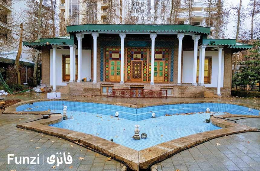 باغ موزه هنر ایران در نزدیکی مدرن الهیه