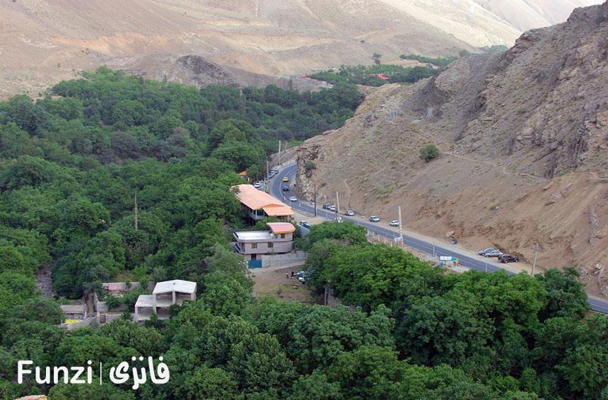 آب و هوای عالی فرحزاد تهران