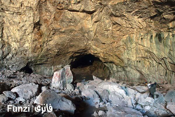 غار رودافشان | جاهای دیدنی دماوند