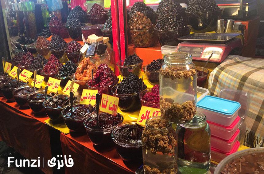 تنقلات خوشمزه دربند | دربند تهران