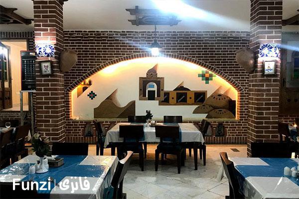 رستوران باغچه حسین فرحزاد | رستوران فرحزاد