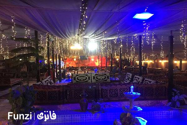رستوران باغ نور فرحزاد | رستوران فرحزاد