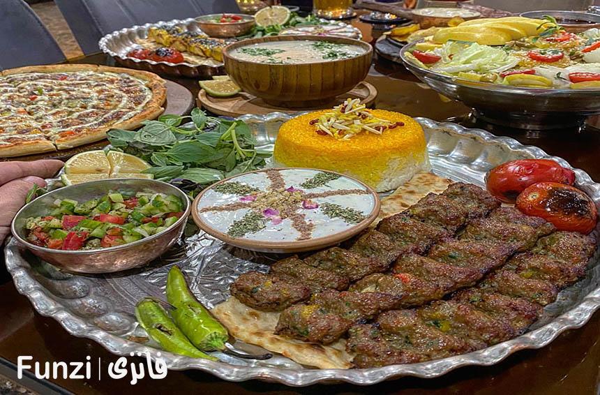 رستوران های فرحزاد تهران