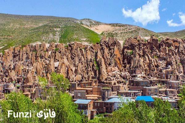 روستای وردیج و واریش | جاهای دیدنی تهران و حومه